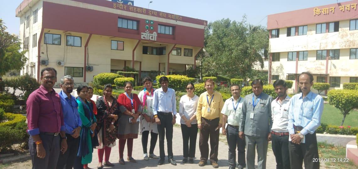 Sanchi industrial visit